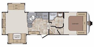 2012 Keystone Cougar Specs Floorplans