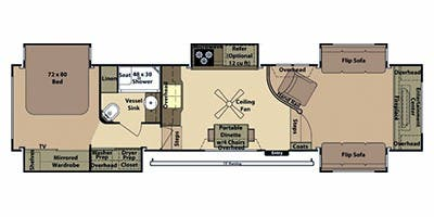 Find Specs For 2017 Open Range Br Floorplan 386flr