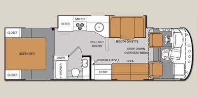 find specs for 2015 thor motor coach - a c e  <br>floorplan: 29 2 (