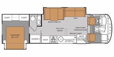 find specs for 2014 thor motor coach - a c e  <br>floorplan: 30 1 (