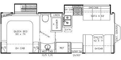 Find Specs for 2013 Coachmen - Concord <br>Floorplan: 280 DS (Class C)