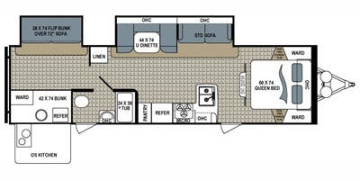 Full Specs for 2014 Dutchmen Kodiak Express 299BHSL RVs   RVUSA com