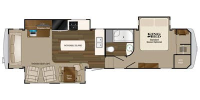 Find Specs for 2013 Heartland RV - Big Country <br>Floorplan: BC 3251TS (Fifth Wheel)