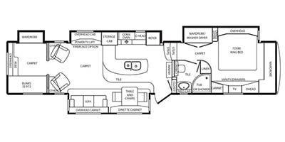 Full Specs For 2014 Drv Elite Suites Lexington Rvs Rvusa Com