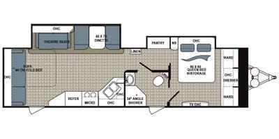 Full Specs for 2014 Dutchmen Kodiak 298RLSL RVs   RVUSA com