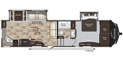 2014 Keystone Montana High Country Specs Floorplans Keystonervsource Com