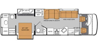 Full Specs For 2015 Thor Motor Coach Palazzo 36 1 Rvs
