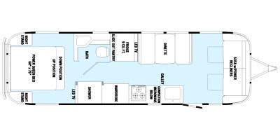 Find Specs for 2015 Airstream - Classic Limited <br>Floorplan: 30 (Travel Trailer)