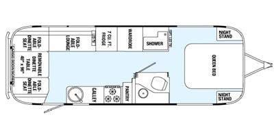 Find Specs for 2015 Airstream - Eddie Bauer <br>Floorplan: 27FB (Toy Hauler)