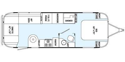 Find Specs for 2015 Airstream - International Signature <br>Floorplan: 27FB (Travel Trailer)