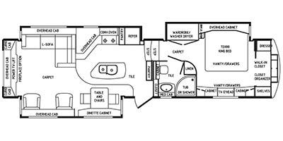Specs for 2015 drv mobile suites rvs for Rv suites floor plan
