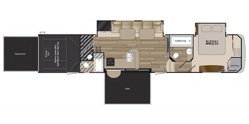 2016 Cyclone Toy Hauler Floor Plans Carpet Vidalondon
