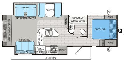 Full Specs for 2015 Jayco White Hawk 29REKS Summit Edition ... on jayco plumbing diagram, jayco battery wiring, jayco pop-up wiring, pop up camper lift system diagram, jayco connector diagram, jayco owner's manual,