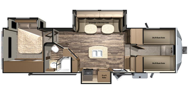 2017 Highland Ridge Light (Fifth Wheel)