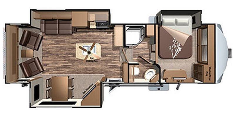 2017 Highland Ridge Roamer (Fifth Wheel)