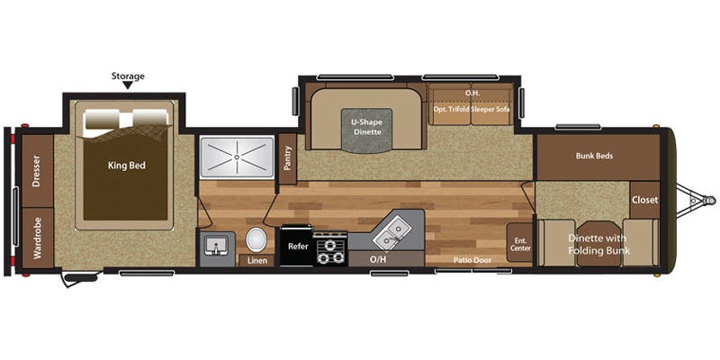 Find Specs for 38BHDS RVs