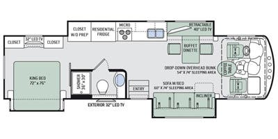 Specs For 2016 Class A Thor Motor Coach Challenger Rvs