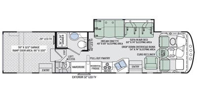 Thor Class A Toy Hauler Floor Plans Wow Blog