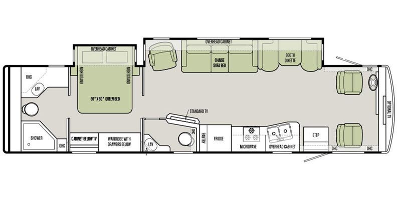 Full Specs For 2016 Tiffin Allegro 36 La Rvs
