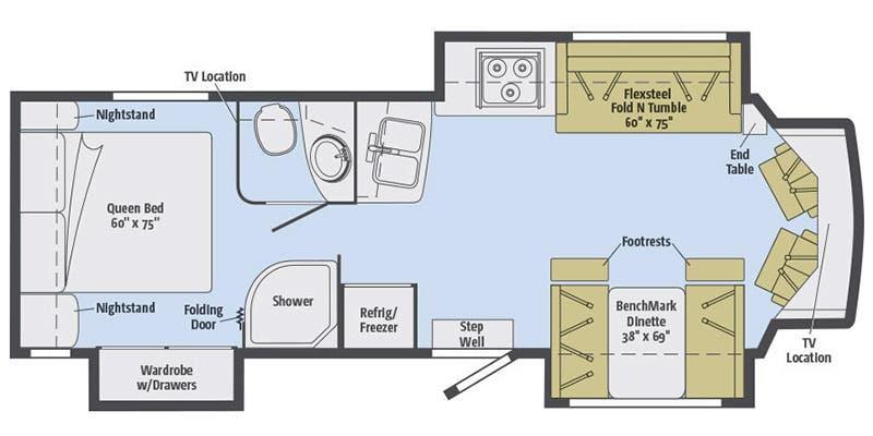 2016 Winnebago View Floor Plans