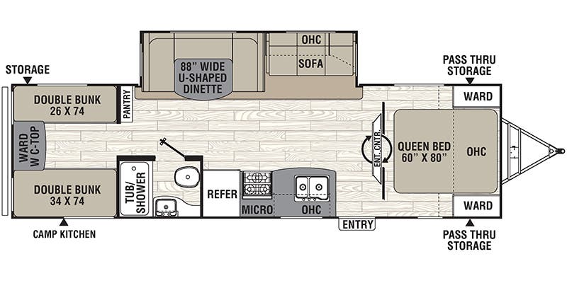Full specs for 2017 coachmen freedom express 292bhds rvs rvusa find specs for 2017 coachmen freedom express brfloorplan 292bhds travel cheapraybanclubmaster Image collections