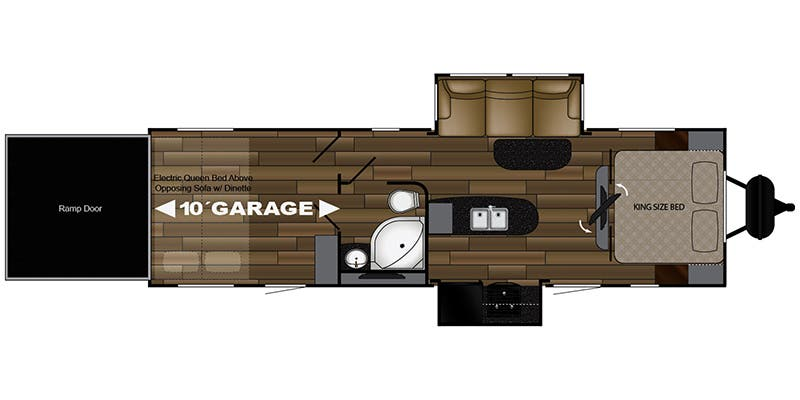 2018 Cruiser RV Stryker (Toy Hauler)
