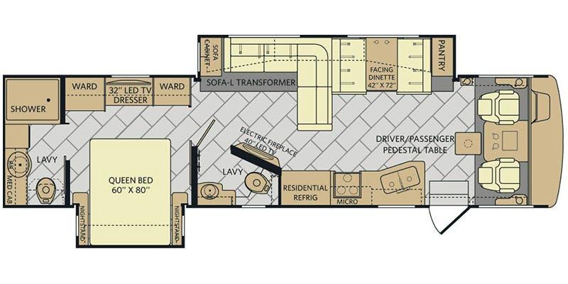 find specs for 2017 fleetwood - bounder <br>floorplan: 35k (class a