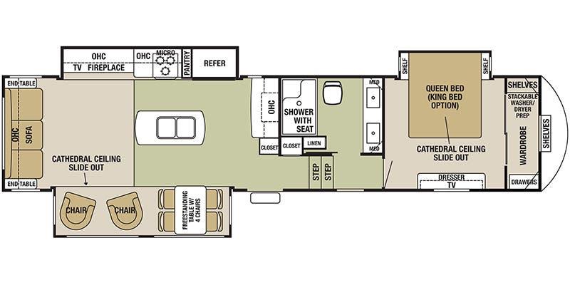 Cedar Creek 5th Wheel Floor Plans Thefloors Co