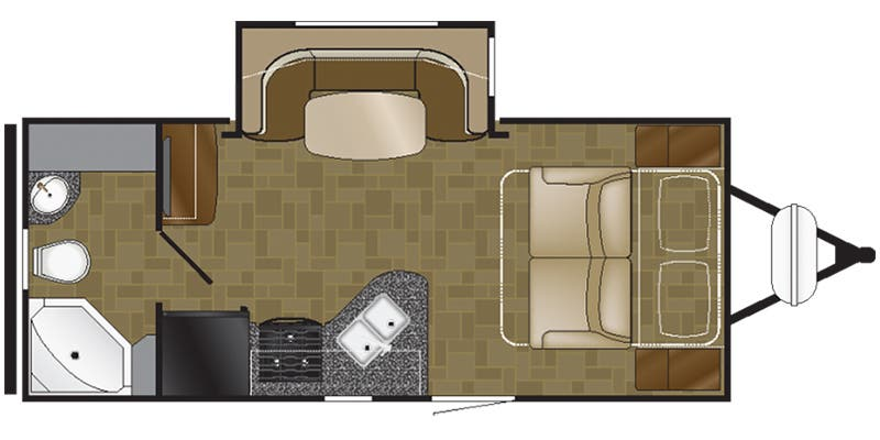 Full Specs For 2017 Heartland North Trail Nt 20fbs Rvs