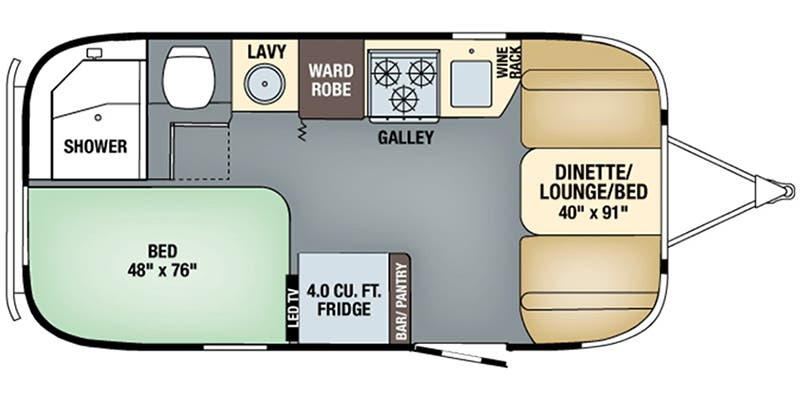 Full Specs For 2018 Airstream Tommy Bahama 19cb Rvs Rvusarhrvusa: Airstream Tv Wiring Diagram At Gmaili.net