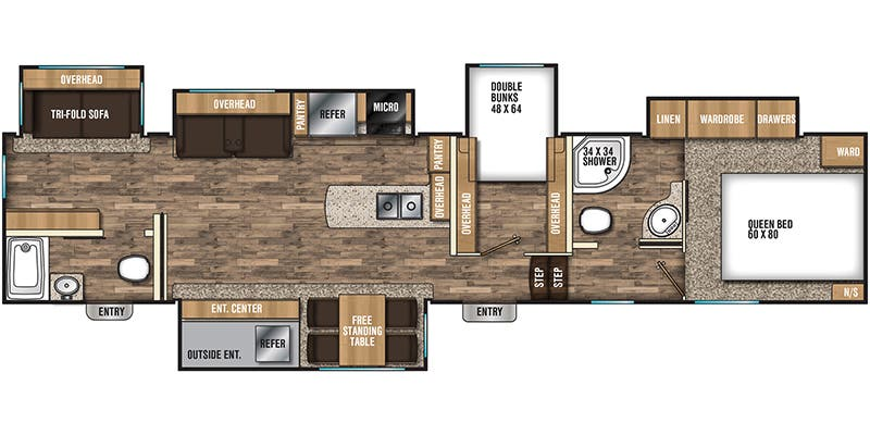 2019 Coachmen Chaparral (Fifth Wheel)