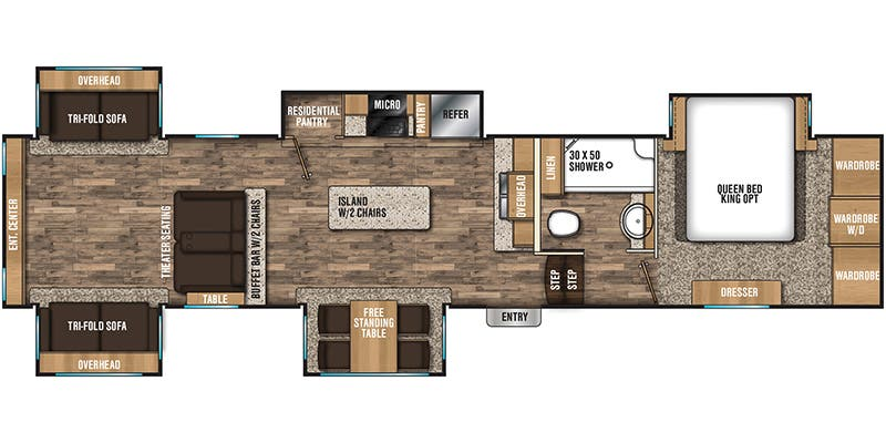 2018 Coachmen Chaparral (Fifth Wheel)