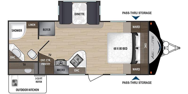 Dutchmen Travel Trailer Floor Plan