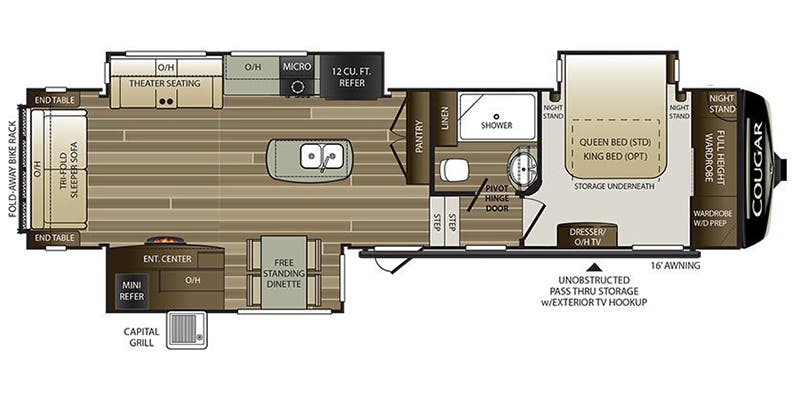 Find Specs For 2019 Keystone Cougar <br>floorplan 338rlk Fifth Wheel: Keystone Cougar Wiring Diagram At Shintaries.co