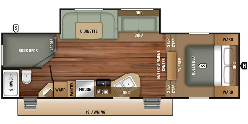 Full Specs For 2018 Starcraft Autumn Ridge Outfitter 265bhs Rvs