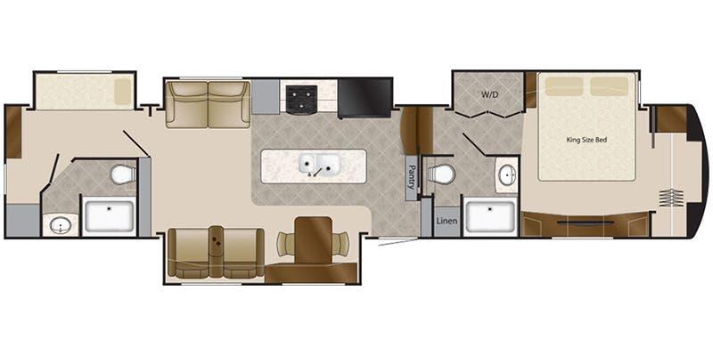 Full Specs For 2019 Drv Mobile Suites 43 Manhattan Rvs Rvusa Com