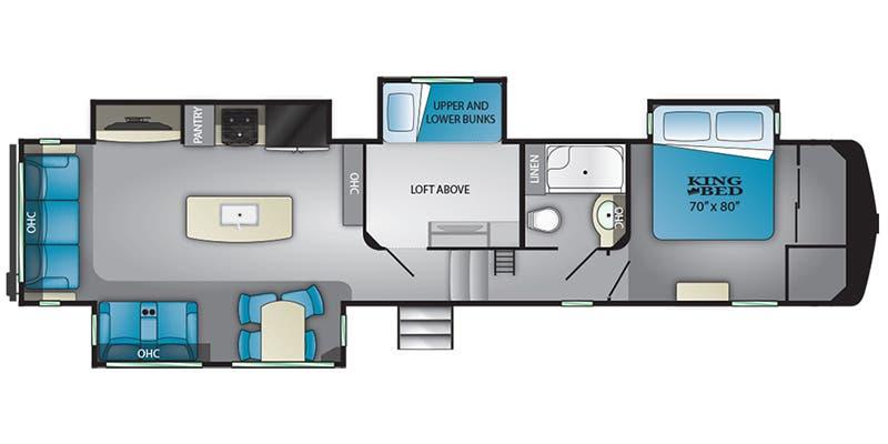 Full Specs For 2020 Heartland Bighorn Traveler Bhtr 39 Mb Rvs Rvusa Com