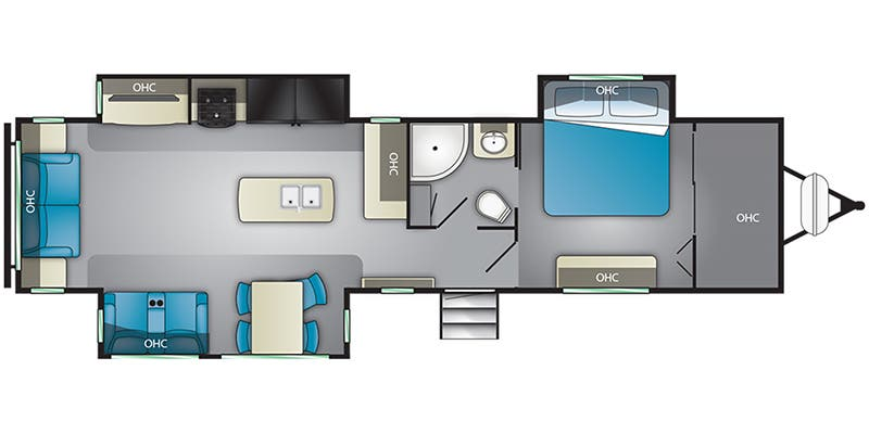 find specs for 2019 heartland - mallard <br>floorplan: m335 (travel trailer