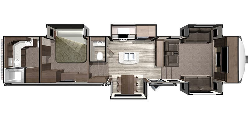 2019 Highland Ridge Mesa Ridge (Fifth Wheel)