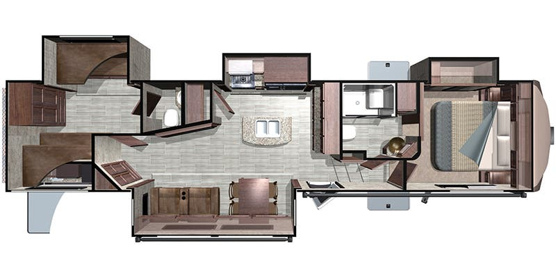 2019 Highland Ridge Open Range (Fifth Wheel)