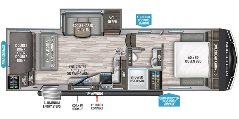 2020 Grand Design Reflection 150 Series (Fifth Wheel)