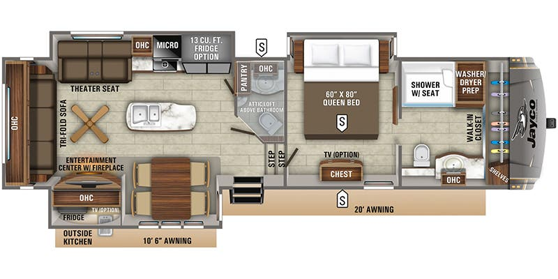 2020 Jayco Eagle (Fifth Wheel)