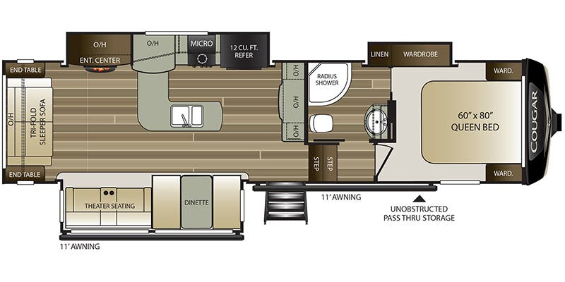 2020 Keystone Cougar (Fifth Wheel)