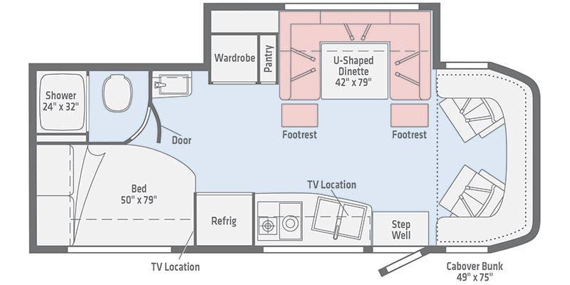 [DIAGRAM_5NL]  Full Specs for 2020 Winnebago View 24J RVs   RVUSA.com   24j Camper Wiring Diagram      RVUSA.com