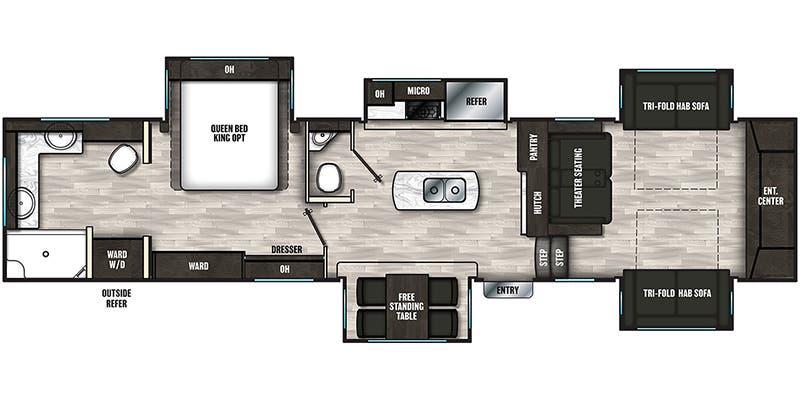 2021 Coachmen Brookstone Fifth Wheel Floorplans Ancria Rv