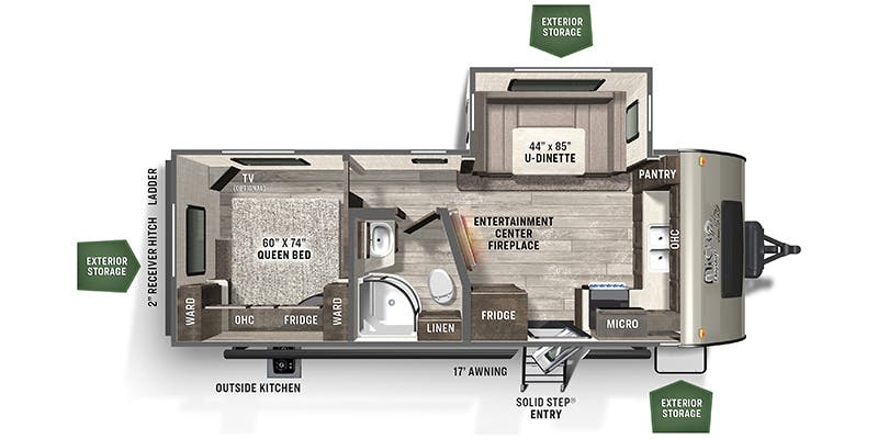 2021 Forest River Rockwood Mini Lite (Travel Trailer)