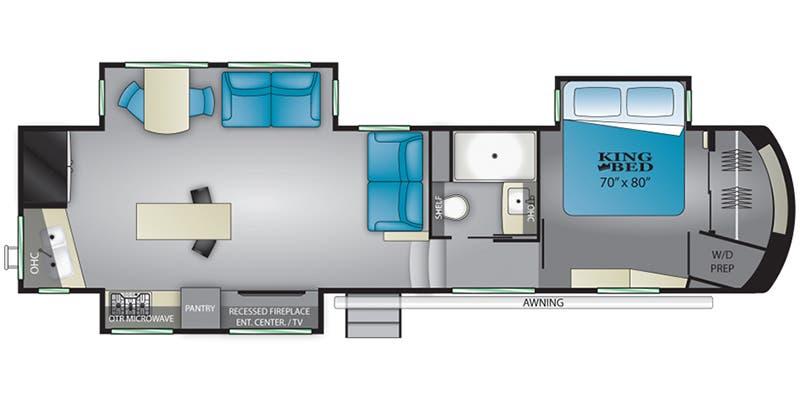 Full Specs For 2021 Heartland Bighorn Bh 3120 Rk Rvs Rvusa Com